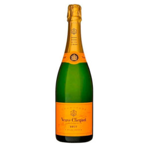 Veuve Clicquot Brut Yellow Label, Champagne. Paellas a domicilio Madrid.